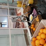 I love The Freshly Pressed Orange juice and selection of the toast,bread and open sandwich as we