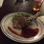 Rack of Lamb with redcurrant sauce