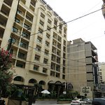 Outside view Hotel Coral Hamra Beirut