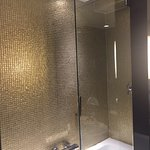 Love the rainfall shower head in the shower  Fantastic room. Comfy bed