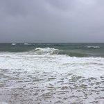 Herbst Strand , wir hatten leider schlechtes Wetter , dennoch super schön