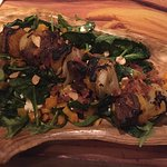 Salad with chorizo