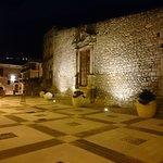 Portale chiesa San Biagio, largo San Biagio e via piana/via Roma