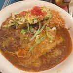 #2 hard shell taco & cheese enchilada