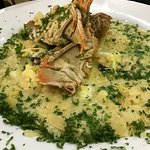 Seafood risotto with a Morton Bay bug