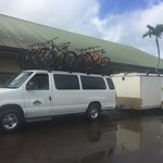 loaded up with bikes