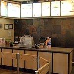 Service counter, DQ Grill & Chill