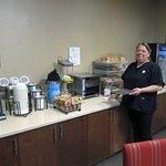 Breakfast assistant, Kristie