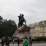 Bronze Horseman, Monument To Peter I Foto