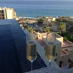 Overlooking the Resort from our plunge pool. Casita 440.