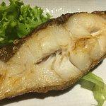 Grilled cod (i think :-)