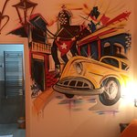 Cuba theme of room