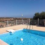 Prive zwembad met uitzicht