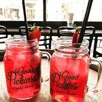 Berry bubble drinks!