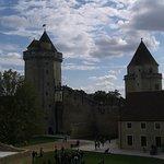 Le château vu de la courtine
