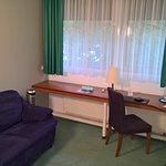 Office corner and sofa