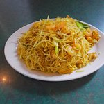 Singapore Rice Noodles at The Jade Restaurant Windsor ON