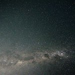 milky way - photo taken at the yard