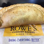 Delicious, hot Cornish pasty!! Friendly staff, good value for lunch.