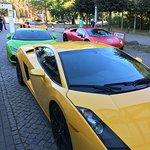 Lamborghinis vor der Tür