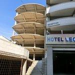 Hotel is van naam veranderd- Hotel Leon