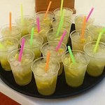 A very warm 26 degrees in Los Cristianos ... come and try our home made lemonades