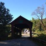 Wooden covered bridges