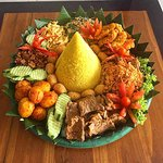 Tumpeng. Catering
