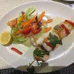 Fish kebab - lovely