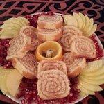 Dessert mit Granatapfel :-)