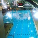 Pool is 50 metres lenght
