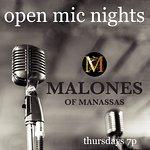 Open Mic Nights, Thursdays