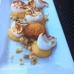 dessert du menu tarte au citron revistée je recommande