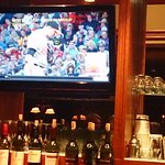 TV in the bar