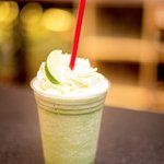 Matcha Coconut and Lime Cooler