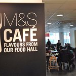Entrance to M&S Cafe, Donegall Street, Belfast
