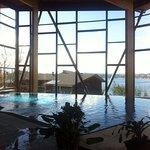 La nueva piscina del hotel