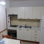 Kitchen/Living room area.