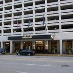 Front entrance to Sheraton Indianapolis City Centre
