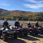 Fantastic time on ATV Tour with Out Back Kayak