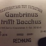Photo of Gambrinus
