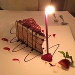 my birthday dessert. lol