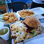 Fishermans Basket and Burger