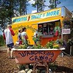 Taco truck near Glacier National Park:  The Wandering Gringo