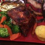 Chicken & rib combo