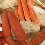 The crab legs...