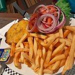 Kids' cheeseburger and Fries