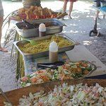 Some of the great food at the picnic!