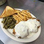 Best Chicken Fried Steak, Breaded & Cooked to order