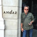 Entrance to Andaz